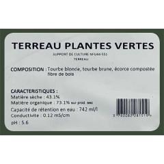 Engrais Gazon naturel Ecomix : NPK 7 - 7 - 10