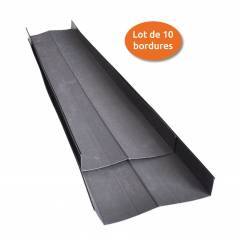 Bordure de propreté Bord'e-clean - Lot de 10 bordures