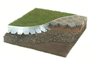 Bordure jardin aluminium