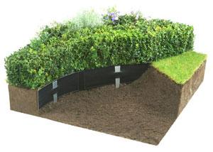 Deco bordure jardin dcoration bordure jardin originale faux surprenant bordure jardin originale - Pierre deco jardin castorama ...